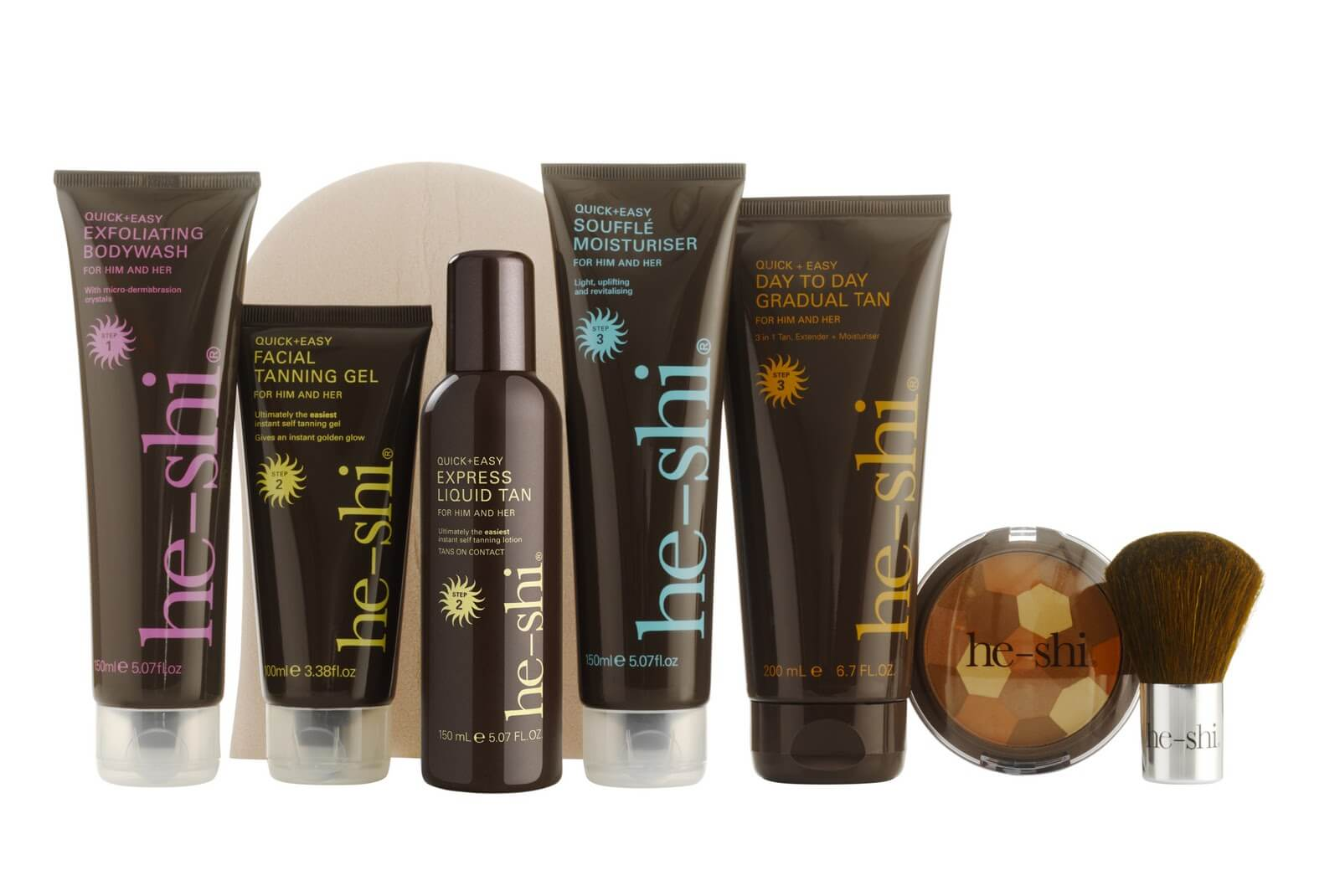 he-shi tanning collection